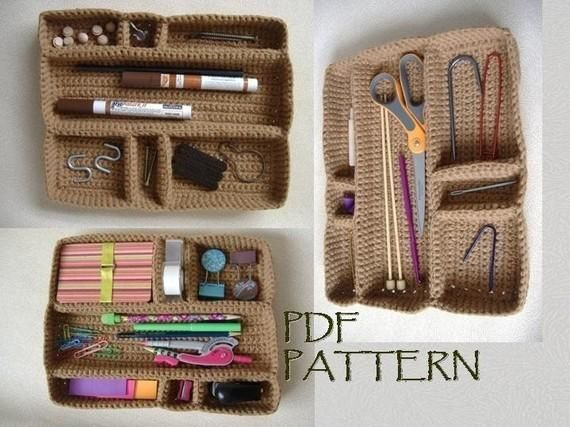 Spring Clean With 7 Crochet Patterns to Help You Organize