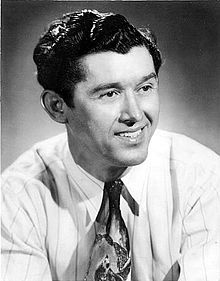 Roy Acuff; I met him at The Grande Ole' Opry..... Upon hearing this, my folks were THRILLED with this! We talked about our suspenders collections.