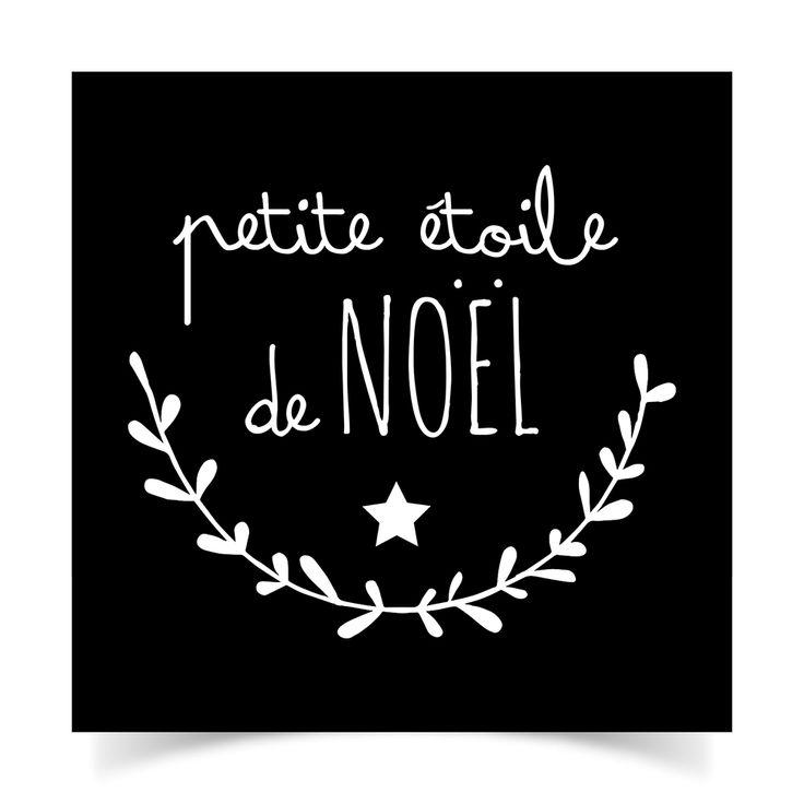 adhésifs-Noël-N&B7            petite étoile de noel                                            …