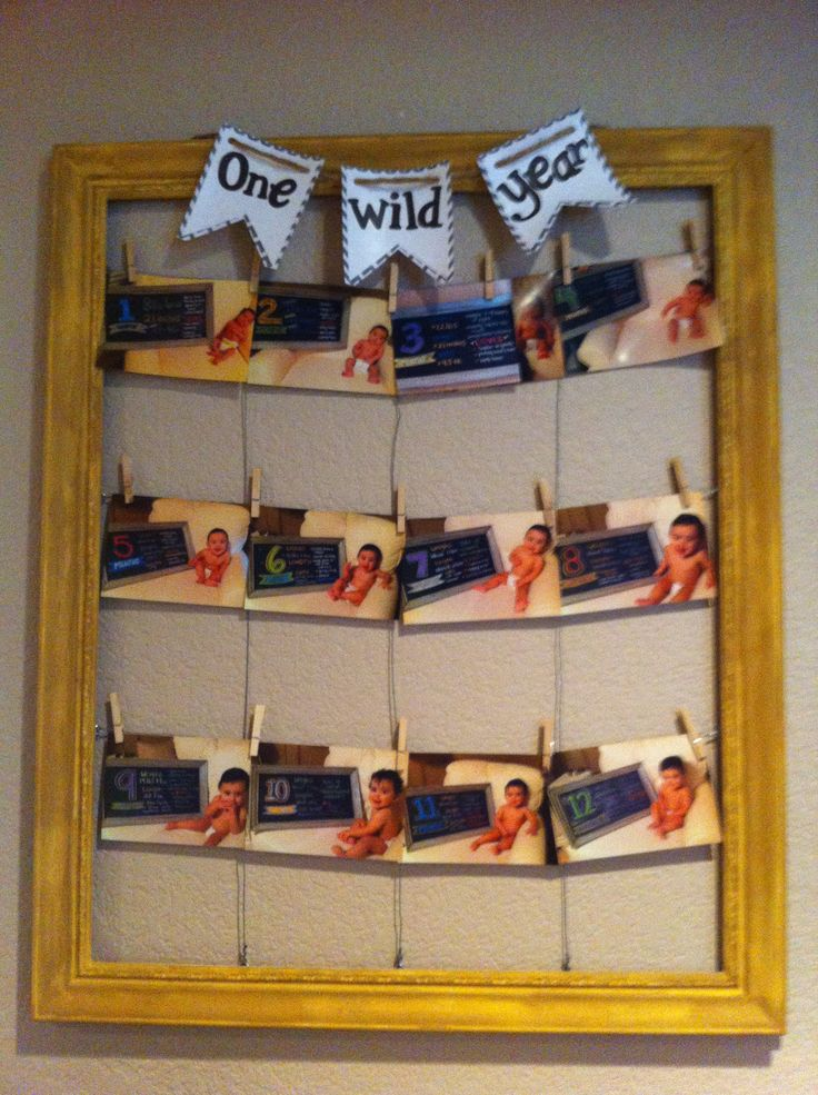 Where the wild things are party - first birthday. Pics taken each month thenorthcutts.blogspot.com