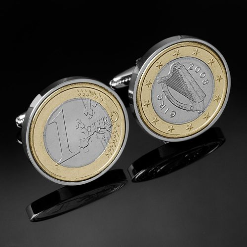Euro Cufflinks USD $54.00