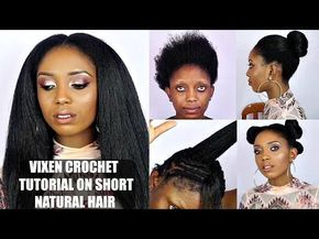 How to do Straight Crochet Braids with a Knotless Part   Outre Dominican Blowout Straight - YouTube