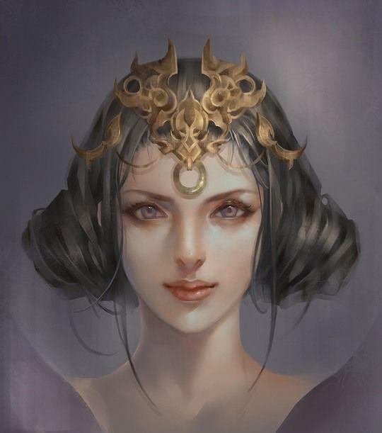 Entry by sarit yahalomi - The Lunar Chronicles Fairest Fanart Contest