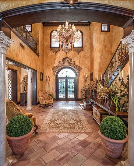 Stunning Foyer. I Feel Like I Should Be Walking Out The
