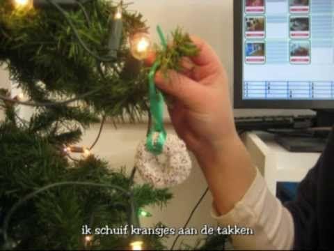 Versje: Wij versieren onze kerstboom
