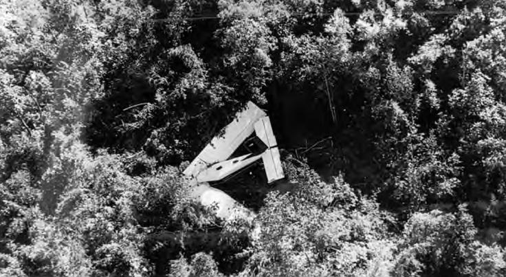 Air America crash in the jungle at Ta Fa, Laos