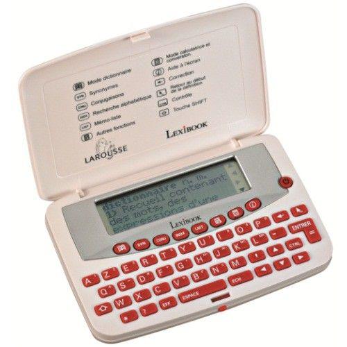 Dictionnaire électronique Lexibook - La Boutique Science & Vie