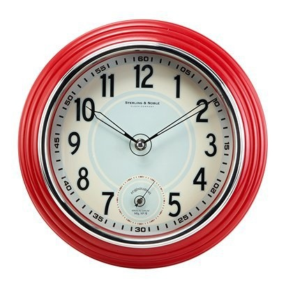 20 Best Red Kitchen Wall Clocks Images On Pinterest
