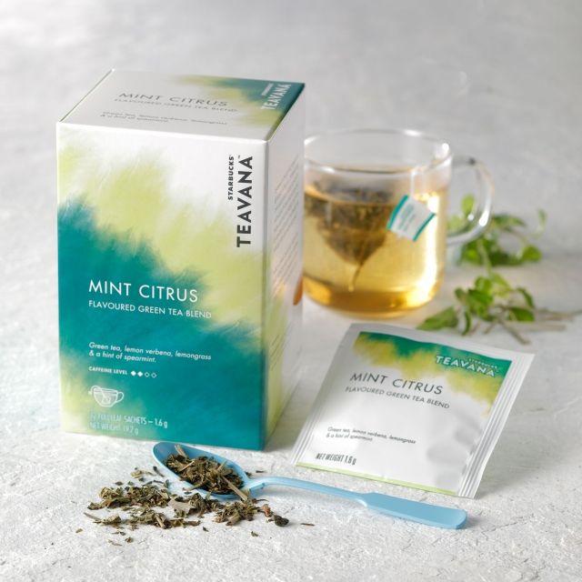スターバックス コーヒー ジャパンのスターバックス® ティバーナ™ ミント シトラス 12袋入りについてご紹介します。