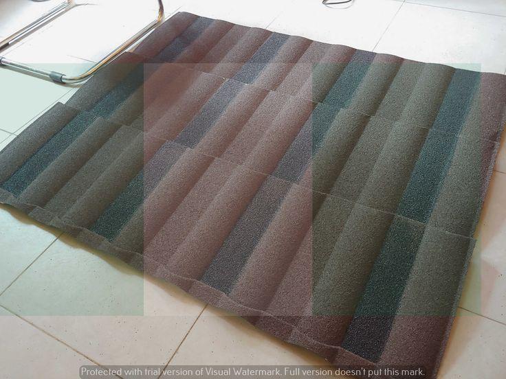 Waji Korea shingle Brown milano new zealand stone coated