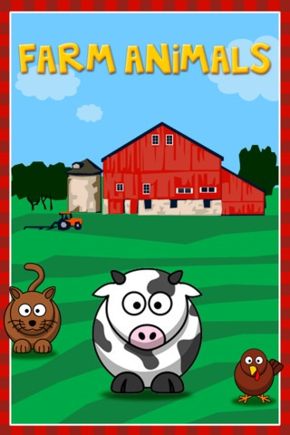 The Farm Animals ($0.99) simple user interface allows babies as young as 6 mo., & toddlers to school age kids to simply touch the screen to hear the sound, teaching cause & effect.    They'll also love the bright and colorful illustrations, and learn from the letters spelling out each animal's name.    Featuring:  • Seventeen different animals & sounds  • Easy user interface  • Colorful and cute illustrations  • Fun sounds and animations  • Animal names spelled out  Recommended Ages: 1 - 3…