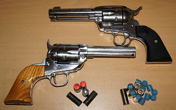 Fast draw rules state that all guns must be single action ...