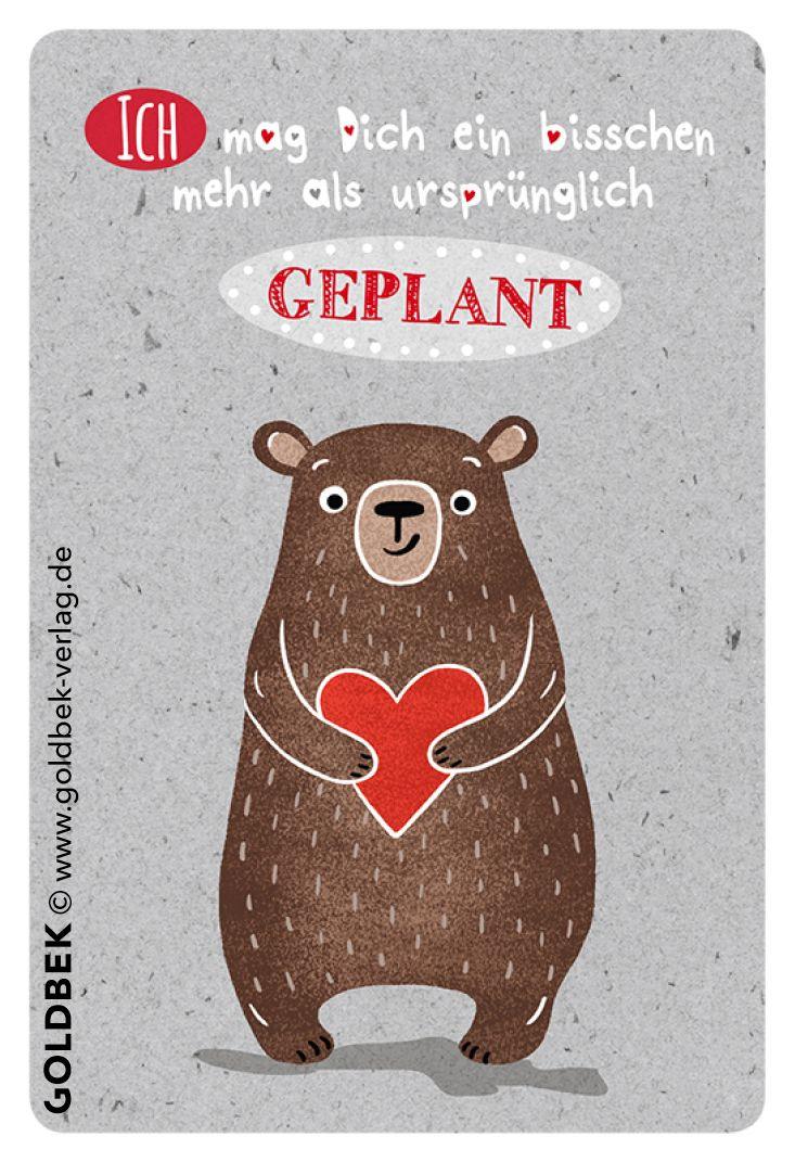 Postkarten - Liebe. Handgezeichnet. So knuffig, einfach zum Knuddeln!
