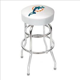 Unique Miami Dolphins Bar Stools