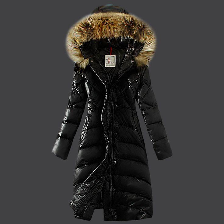 Moncler Down Coat Women Hooded Windproof Black Jackets Outlet Online UK  Sale, Discount Sale Off Cheap Moncler.