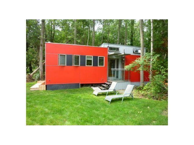 The Sustain Minihome is famous; It's been seen in the New York Times, Oprah Magazine, HGTV and David Suzuki.