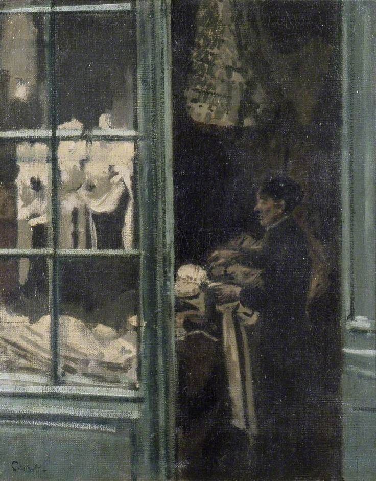 The Laundry Shop, Dieppe, France (Walter Richard Sickert)