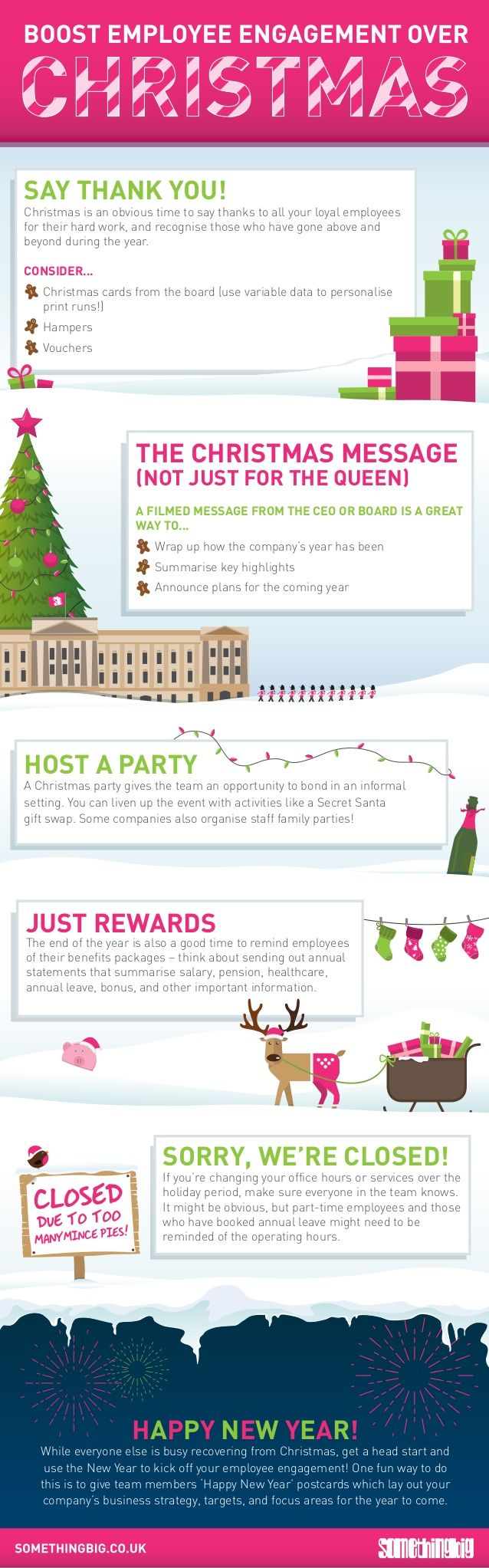 Boost your internal comms and employee engagement this christmas season