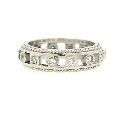 Penny Preville 18k Diamond Stacking Band Ring Set, Size 6