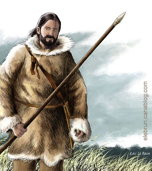 Cro-Magnon hunter by Eric Le Brun | Ancient Peoples ...