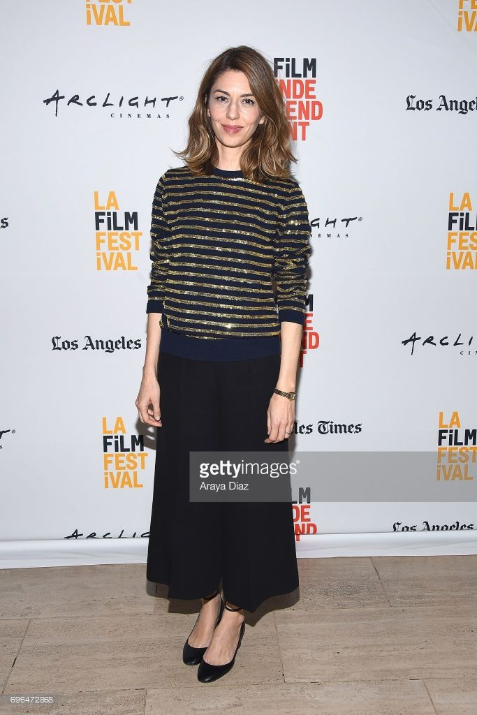 Sofia Coppola attends the 2017 Los Angeles Film Festival - 'Lost In Translation' and 'The Beguiled' screenings at LACMA on June 15, 2017 in Los Angeles, California.