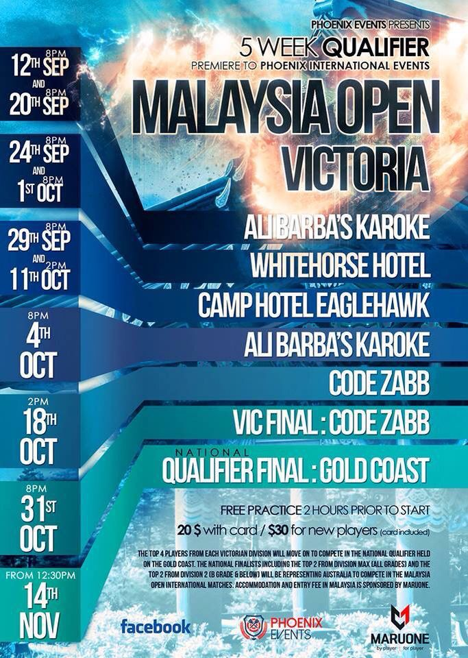 Qualifier event for Malaysia 2015