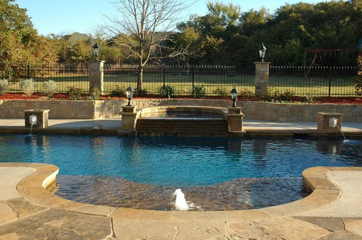 392 best yard jewerly images on pinterest backyard ideas for Garden pool on a pedestal crossword clue