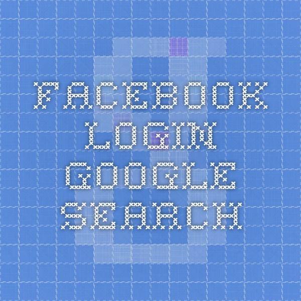facebook login - Google Search