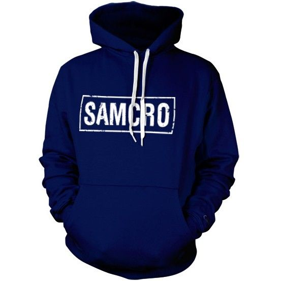 SAMCRO logo - Official Sons of Anarchy hoodie from 8ball.co.uk #SOA #SAMCRO