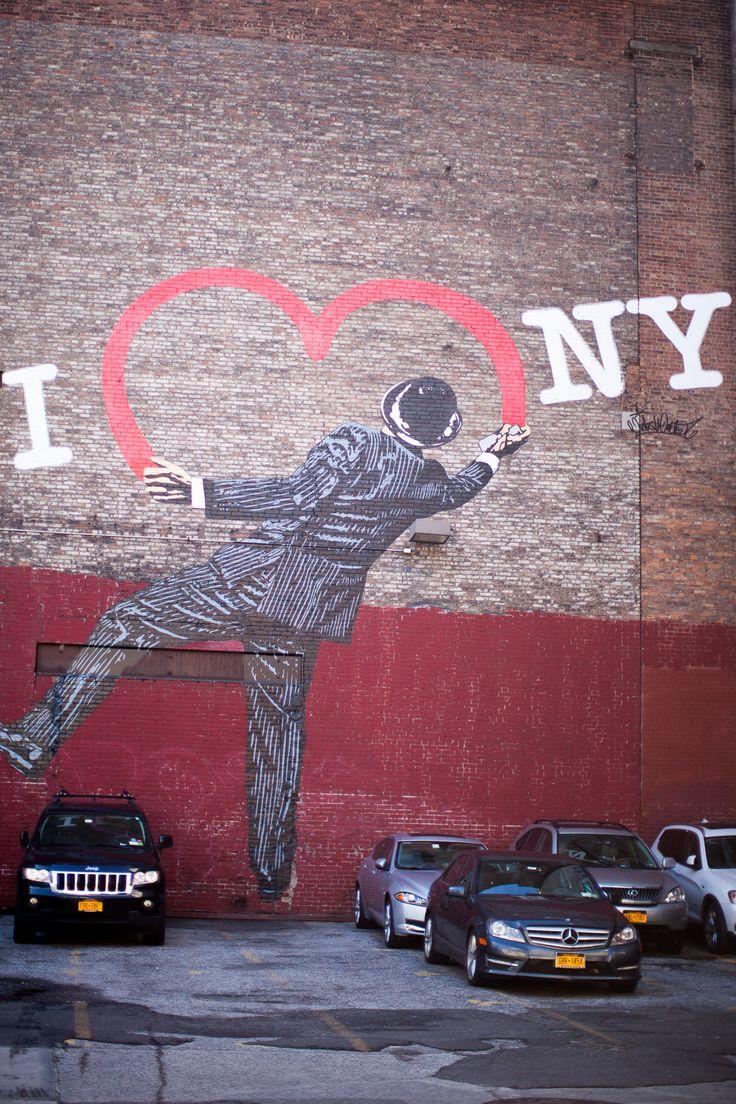 inspiracje z nowego jorku, graffiti, wall painting, street art