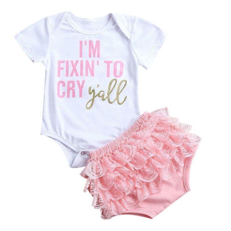 Neugeborenes Strampler Baby Jungen Mädchen Body Jumpsuit Romper Outfits Babygrow