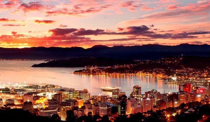 O Que Fazer em Wellington na Nova Zelândia #viagem #viajar