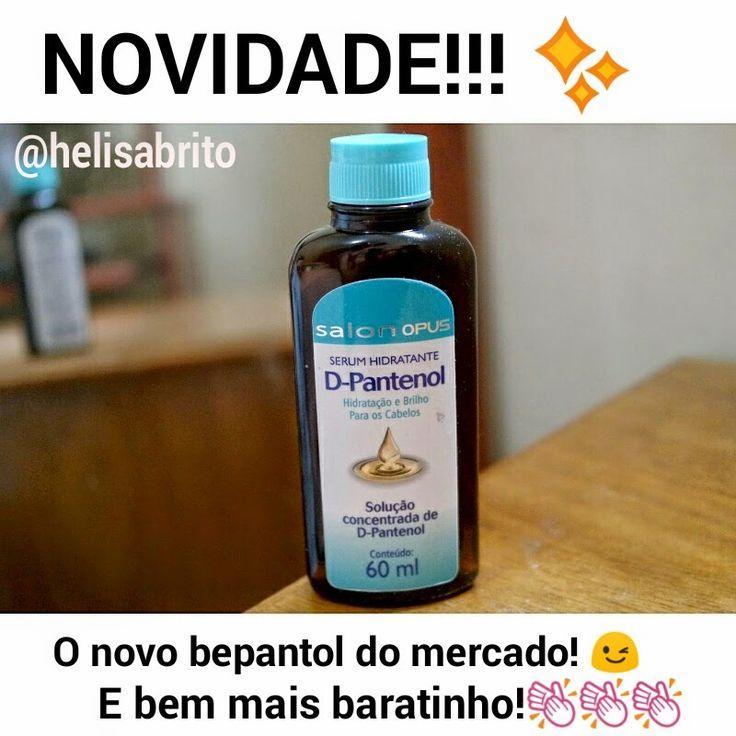 Serum Hidratante D-Pantenol Salon Opus: Versão Baratinha do Bepantol - Mais Estilosa
