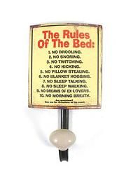 Rules of The Bed - $8.99