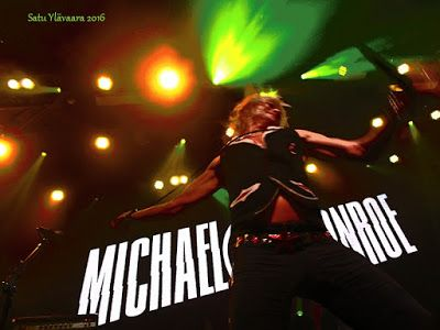 Portfolio Multimedeia 2: Michael Monroe at Viking Grace