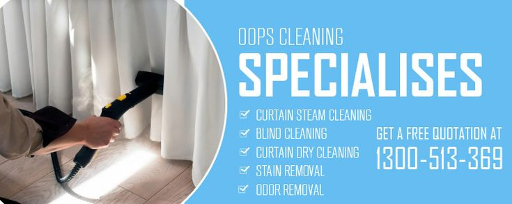 Our well experienced and certified technicians are skilled to clean any kind of window furnishing, including rollers, vertical blinds, wooden shutters, rubber backed curtains, Roman blinds, and more. http://oopscleaning.com.au/curtain-blind-cleaning-brisbane