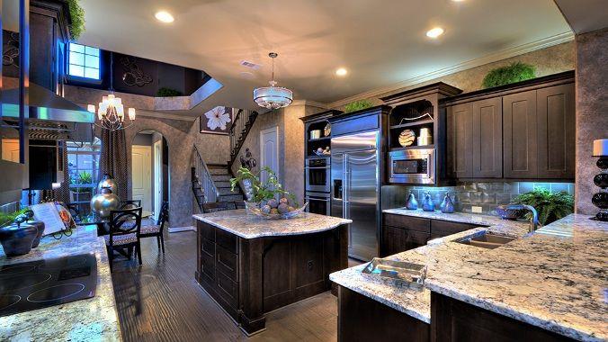 Positano kitchen 5 - Taylor Morrison Homes