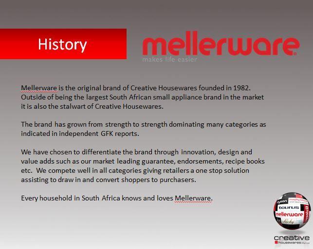 Mellerware History