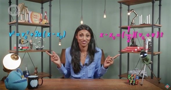 Dr. Shini Somara will teach you science in the new web series, Crash Course Physics.