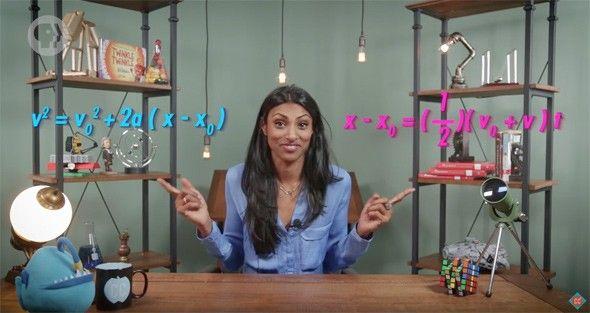 New Crash Course science show: Physics with Dr. Shini Somara.