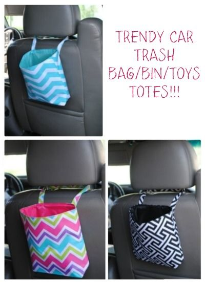 Organization Ideas For The Home Car Trash Bags Trendy Bag Bin Toys Totes