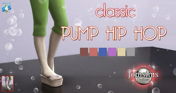 Classic pump hip hop at Jomsims Creations • Sims 4 Updates