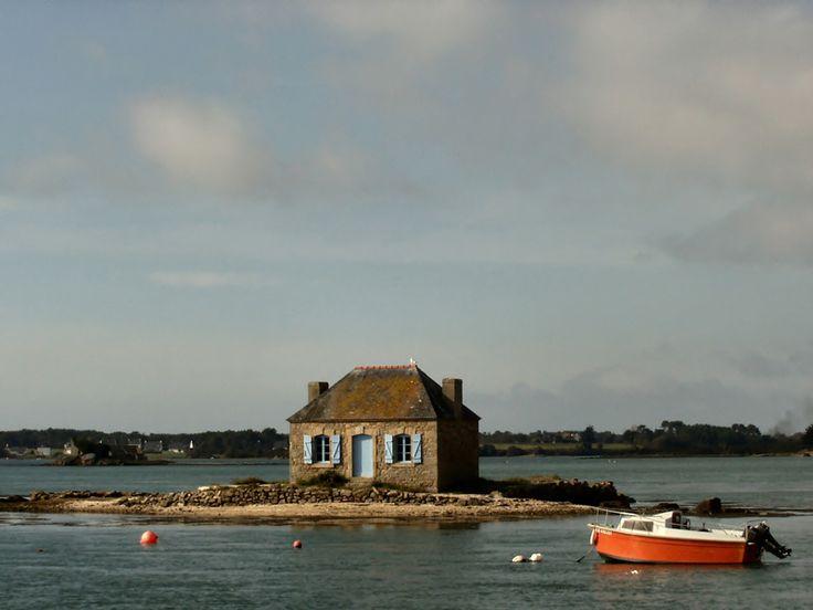 La petite maison dans la mer - Saint-Cado, Bretagne