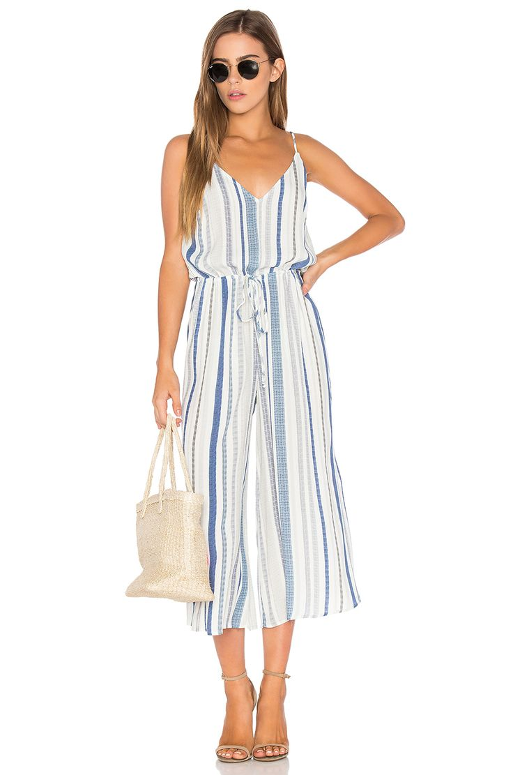 Eight Sixty Stripe Jumpsuit in Bondai Stripe