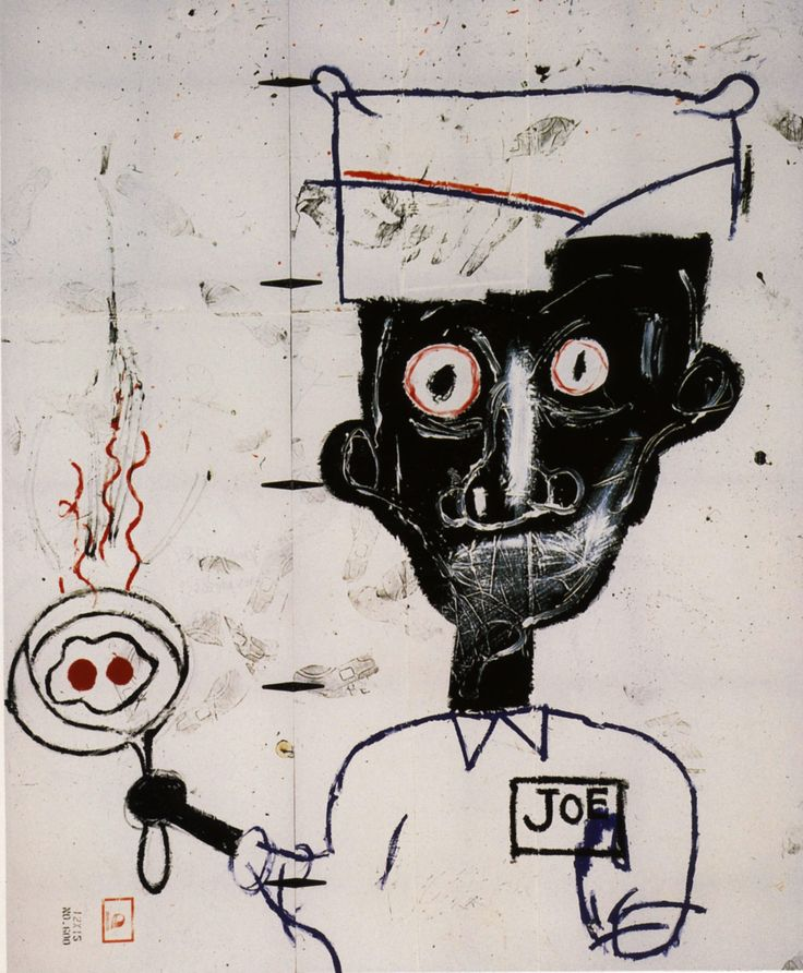 Jean-Michel Basquiat. The best. KAGADATO selection. **************************************Eyes and Eggs