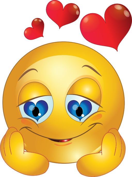 Loving Smiley-face Eyes Clipart - Clipart Kid