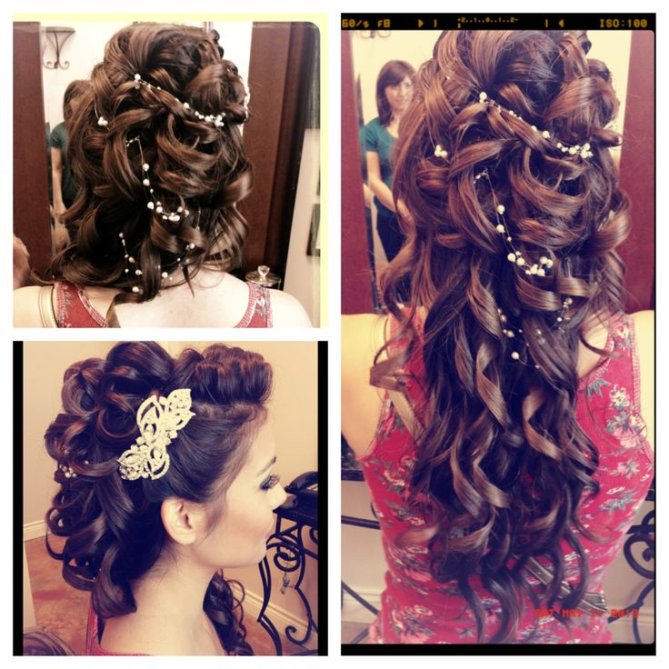 Quinceanera Hairstyles On The Side : 252 best chichis quince plans images on pinterest
