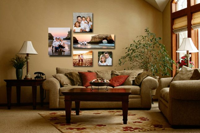 picture arrangements on walls - Bing Images