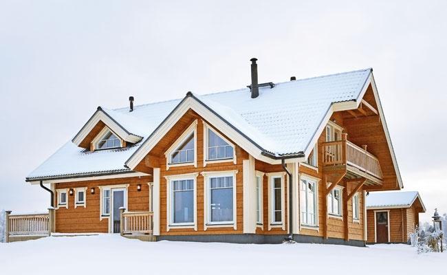 Finnlamelli Log Home