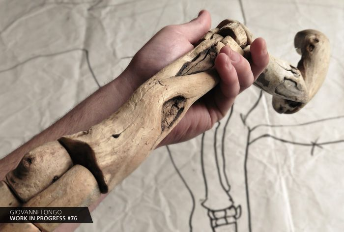 Wip n.76 / https://www.facebook.com/giovannilongo.art/ / fragile skeletons arte art scultura sculpture legno wood driftwood artecontemporanea contemporaryart